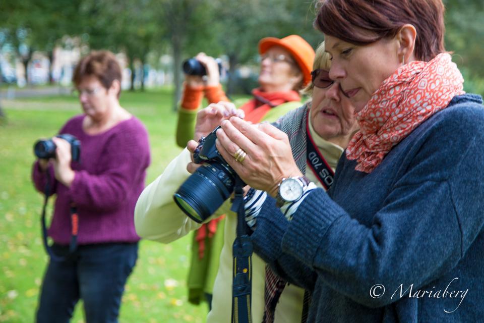 Fotokurs med fotograf Maria Berg, Ta bättre bilder