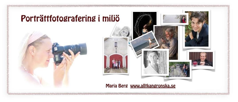Porträttfotografering i miljö