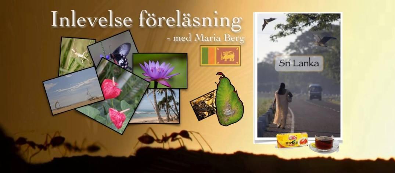 Sri Lanka - den gröna ön, inlevesle föreläsning av fotogaf Maria Berg