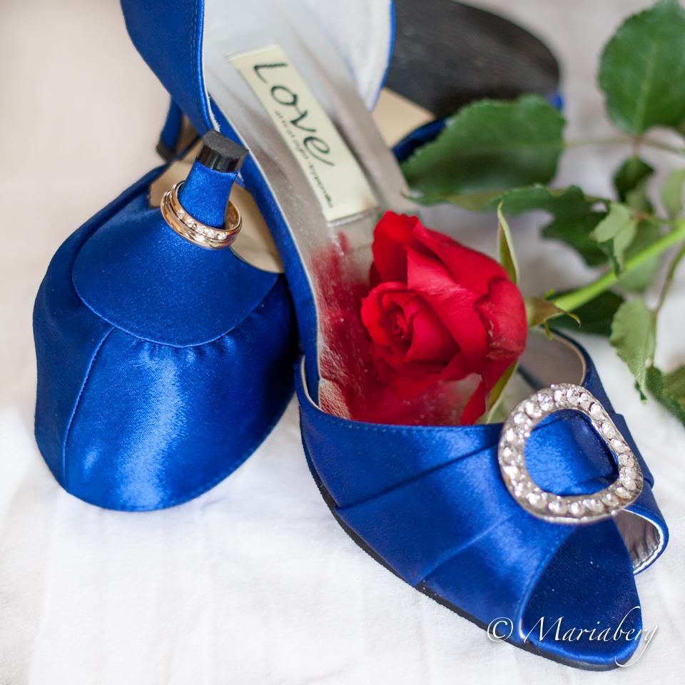 Skor till bröllopsvalsen