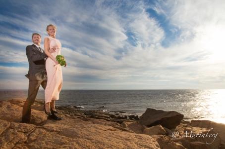 Bröllops fotografering på stranden