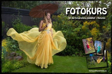 Vill du också lära dig fotografer Vanliga människor som modeller? Utgår från Halmstad och Falkenberg :fotograf Maria Berg